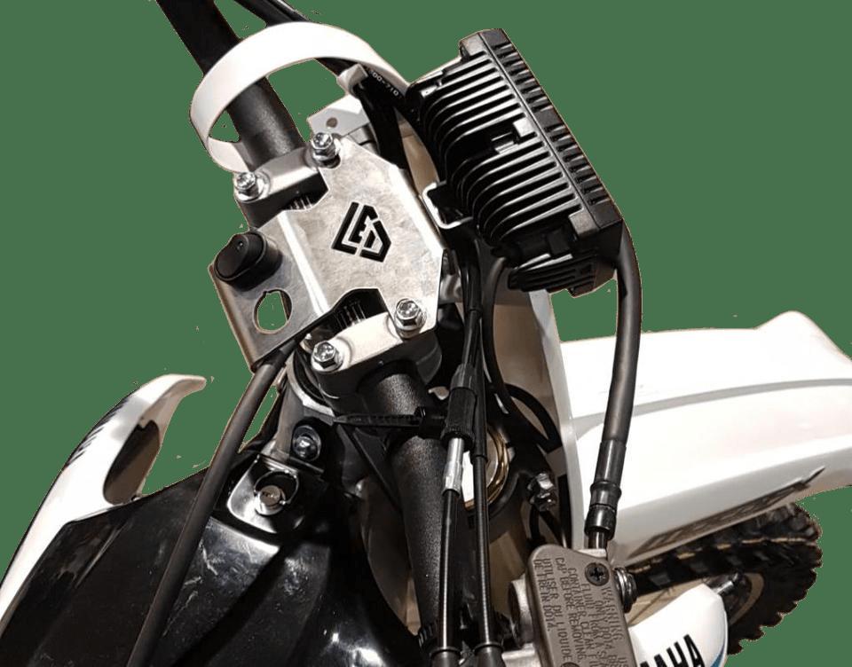 dirt bike & snow bike light bar kit