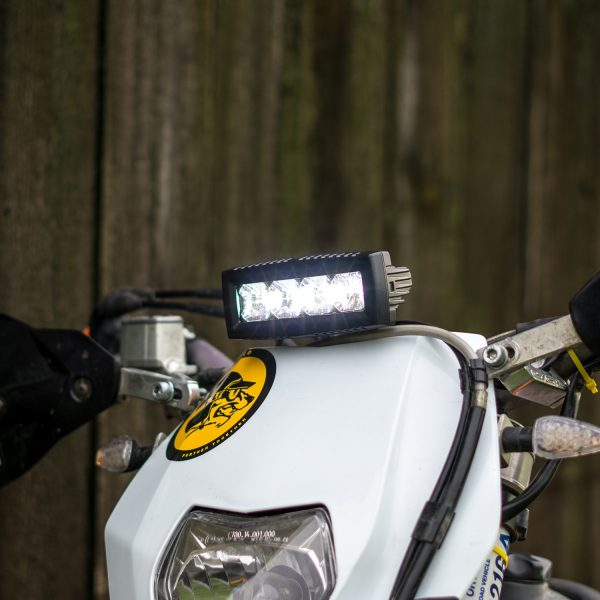 Dirt Bike Headlight Light Bar Kit | Universal light for any Dirt ...