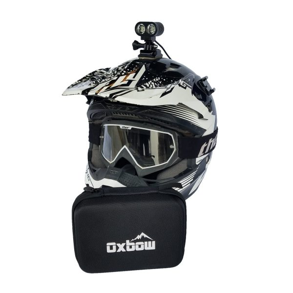voyager dirt bike helmet light