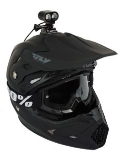 dirt bike & snowmobile helmet light