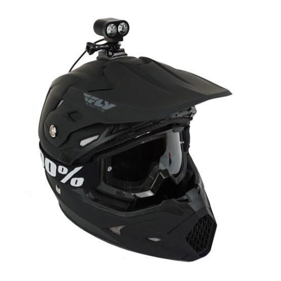 dirt bike & snowmobile helmet light