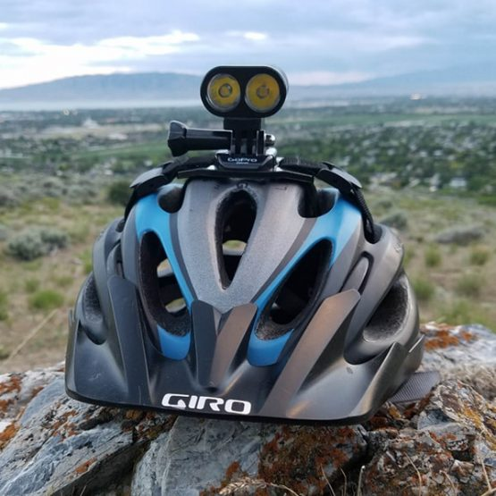 mtb helmet lights