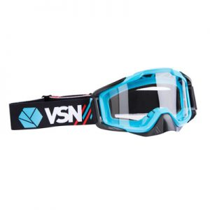 affordable blue dirt bike goggles